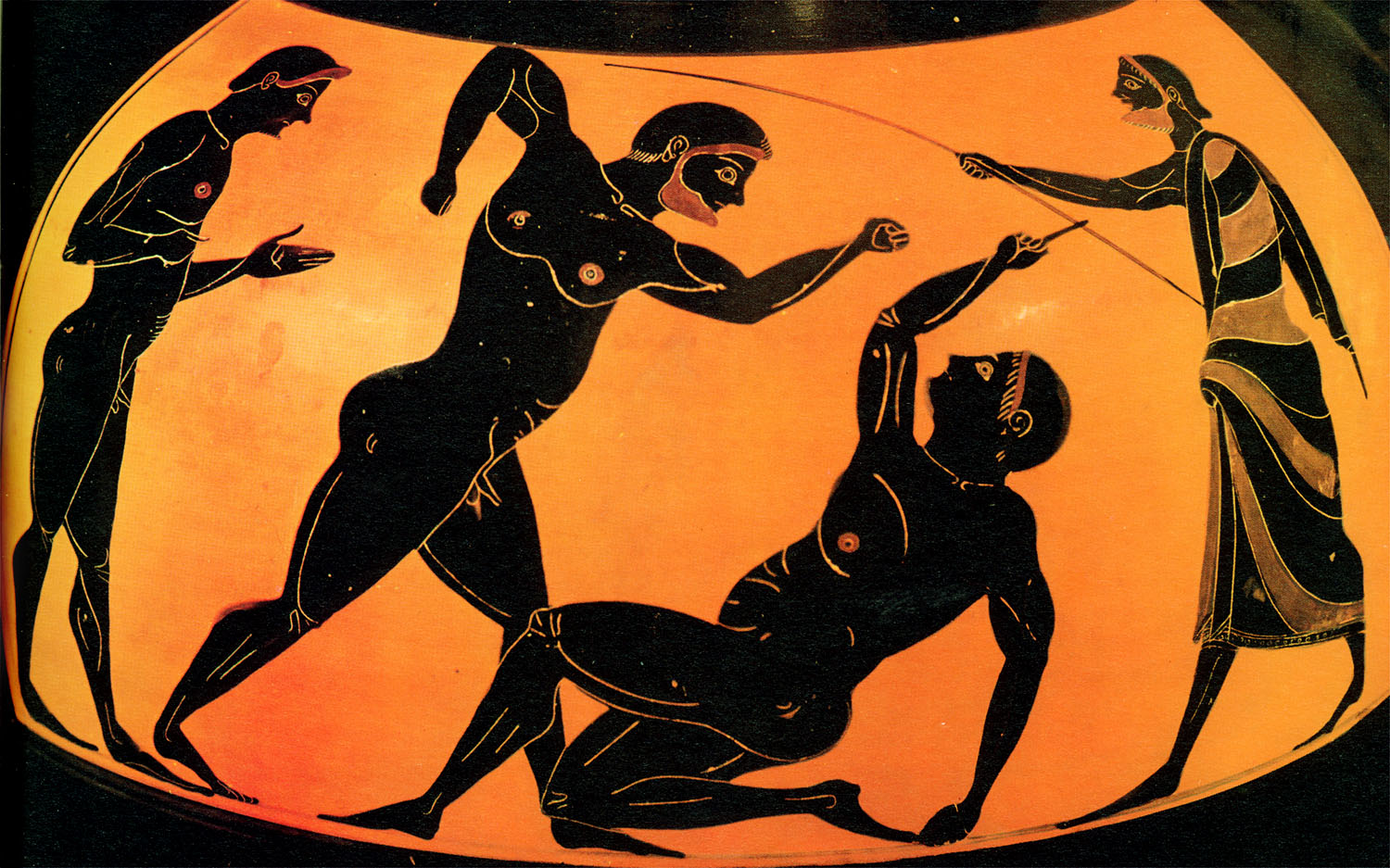 a look at the olympic games in ancient greece Like so much of ancient history, the origins of the olympic games held in olympia, a district in southern greece, are shrouded in myth and legend.